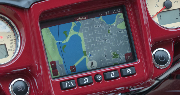 Das Indian Motorcycle® Ride Command® System
